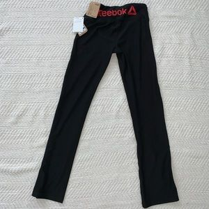 Reebok Straight Leg Workout / Yoga Pants Size XS